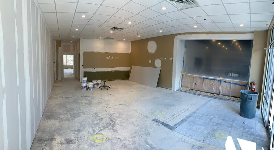 design studio construction